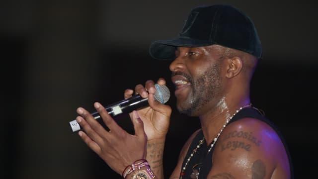 Le chanteur congolais Fally Ipupa.