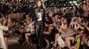 Gigi Hadid lors du défilé Tommy Hilfiger durant la New York Fashion Week en septembre 2016