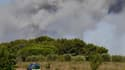 A Générac, un incendie a ravagé plus de 500 hectares.