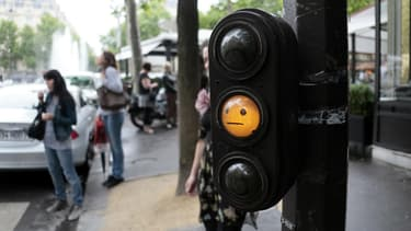 81% des automobilistes en Ile-de-France reconnaissent passer lorsque le feu est orange.