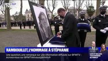 Un hommage national rendu à la policière Stéphanie Monfermé
