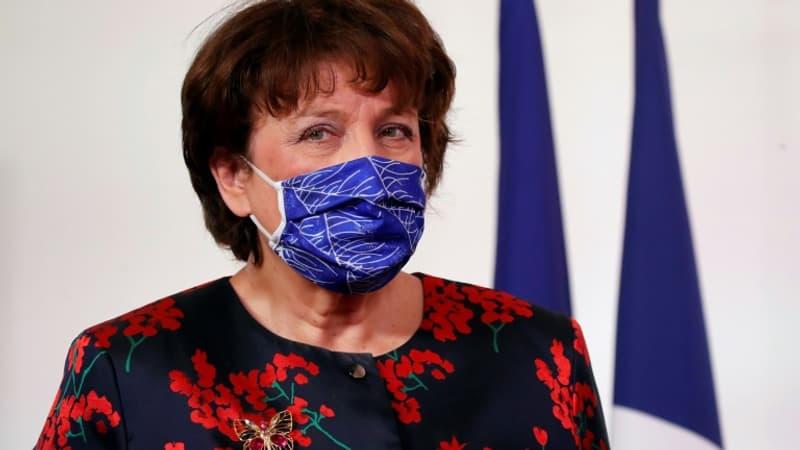 Roselyne Bachelot de retour au ministère de la Culture après son hospitalisation pour Covid-19