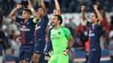 Les Parisiens fêtent leur première victoire de la saison en Ligue 1, face à Caen.