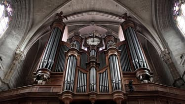 Un orgue - Illustration