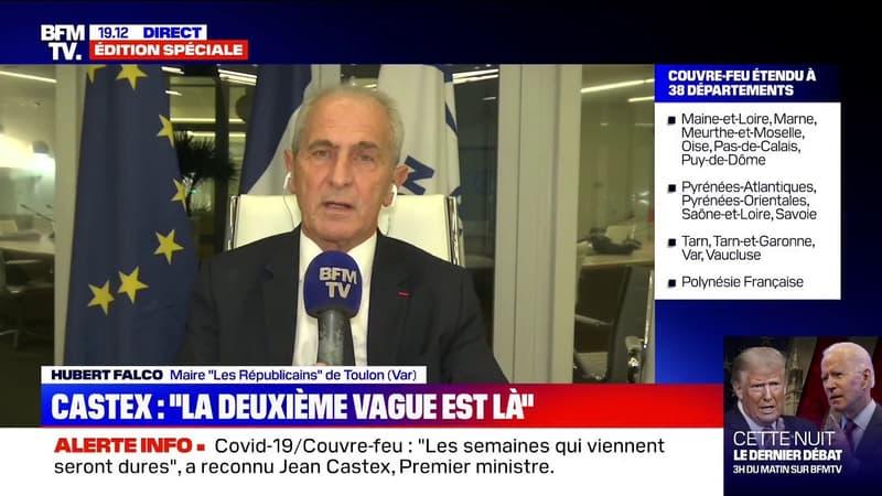 """Covid-19: le maire de Toulon estime que """"l'évolution de ce virus va trop vite"""""""