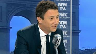 Benjamin Griveaux jeudi sur BFMTV et RMC.