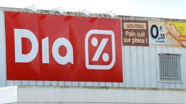 Les magasins Dia en France vont être mis en vente.