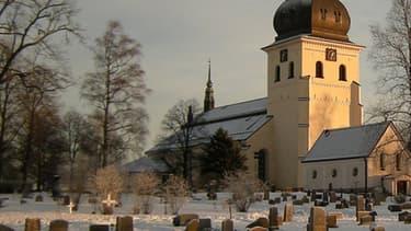 Un cimetière à Borlange, en Suède. (Illustration)