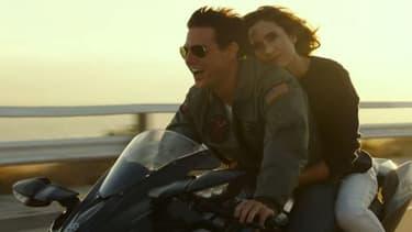 Tom Cruise et Jennifer Connelly dans Top Gun 2