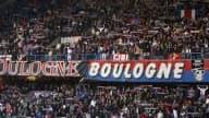 La banderole déployée par les Boulogne Boys condamne le PSG à ne pas participer à la Coupe de la Ligue la saison prochaine