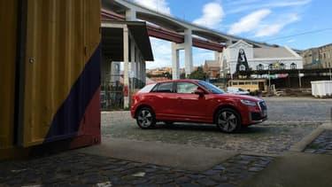 Le Q2 est le premier SUV urbain d'Audi, et le plus petit modèle de sa gamme avec la compacte A1.