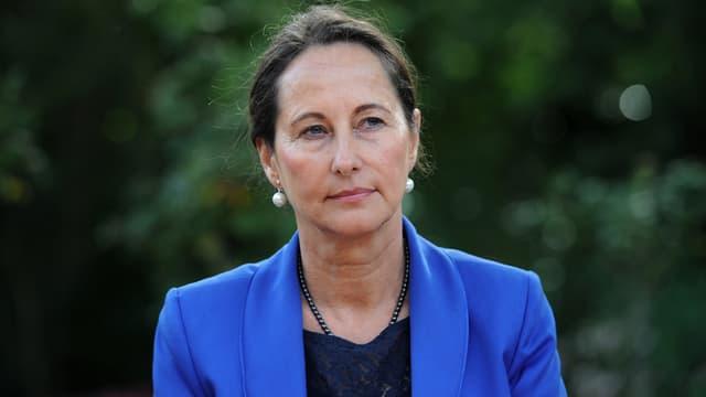 """Ségolène Royal ce vendredi à la Rochelle, à l'occasion d'une réunion sur la transition vers """"l'économie circulaire""""."""