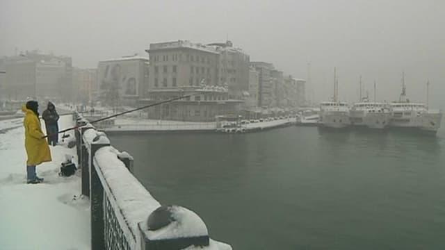A Istanbul, le 7 janvier.