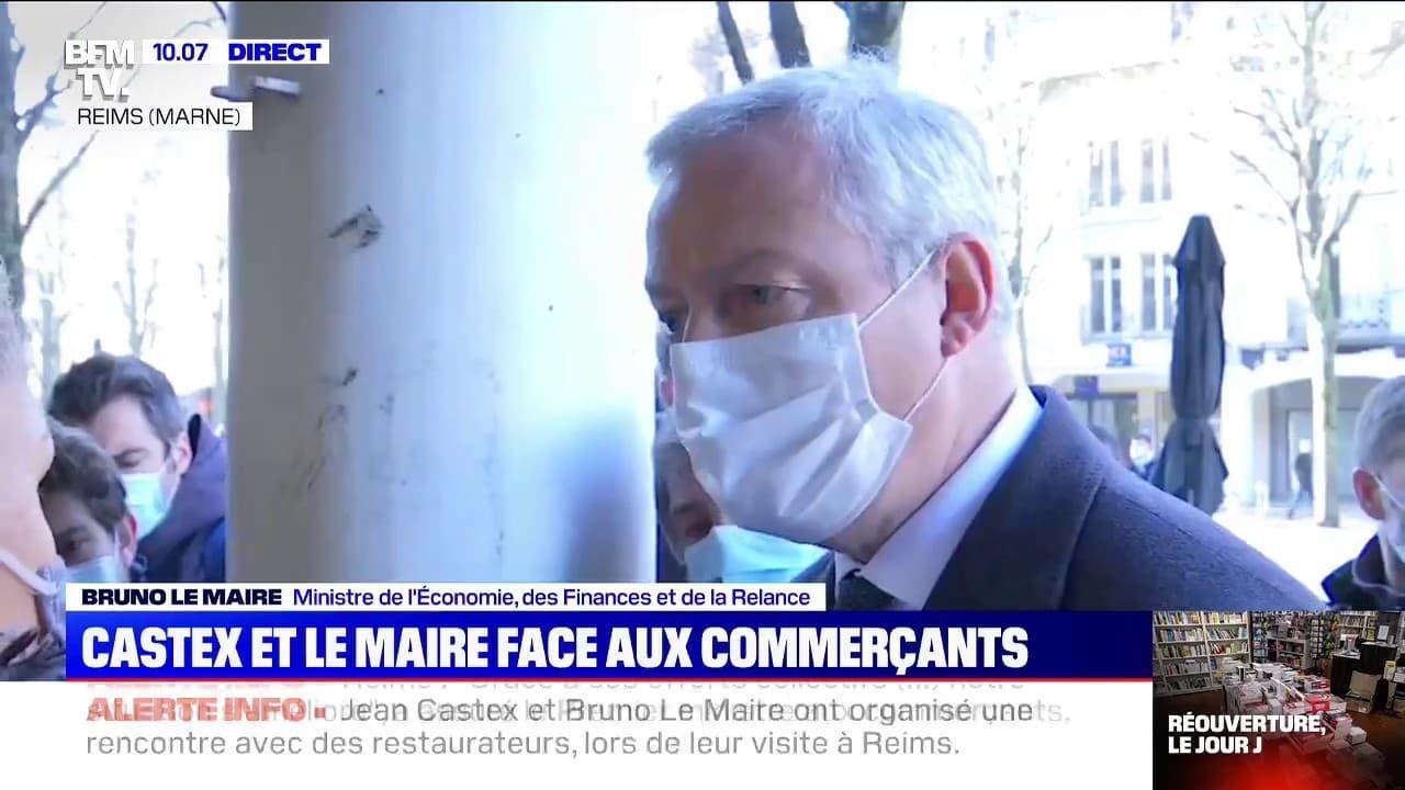 Bruno Le Maire annonce un élargissement du plafond du fonds de solidarité à 200.000€ par mois