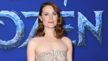 """Evan Rachel Wood lors de l'avant-première de """"La Reine des Neiges 2"""", le 7 novembre 2019"""