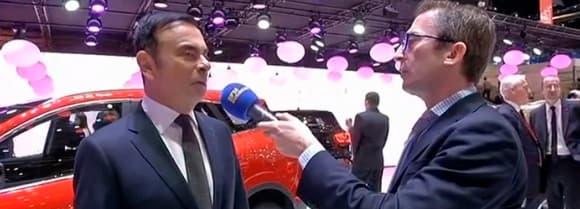 L'interview de Carlos Ghosn par Mathieu Sevin sur BFM Business