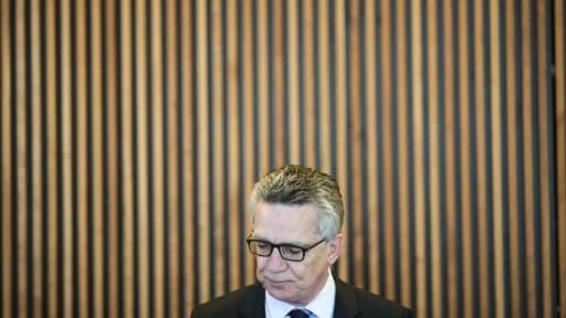 Le ministre allemand de l'Intérieur, Thomas de Maizière, le 7 mars 2017 à Berlin