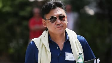 """Hiroshi """"Mickey"""" Mikitani, fondateur et PDG de Rakuten, """"l'économie du partage va radicalement transformer le secteur des services, au bénéfice de la société""""."""
