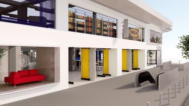 Ikea prévoit d'investir 400 millions d'euros en France ces trois prochaines années pour implanter de nouveaux sites .