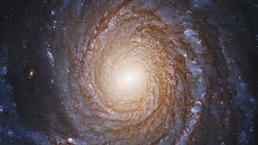 La galaxie NGC 3147, au coeur de laquelle a été repérée le trou noir défiant les lois de l'astronomie.