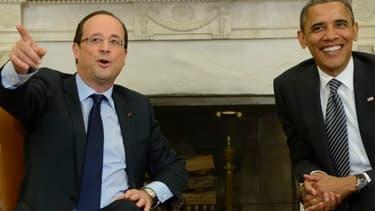 Les relations entre François Hollande et Barack Obama sont au beau fixe.