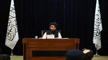 Le porte-parole des talibans Zabihullah Mujahid