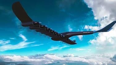 Un avion à hydrogène (image d'illustration)