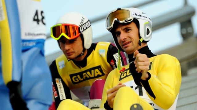 Sébastien Lacroix et Jason Lamy-Chappuis