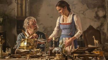 """Emma Watson et Kevin Kline à l'affiche de la """"La Belle et la Bête"""""""