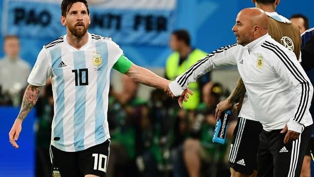 Messi et Sampaoli