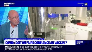 Covid-19: un infectiologue de l'Institut Pasteur de Lille encourage à faire confiance au vaccin