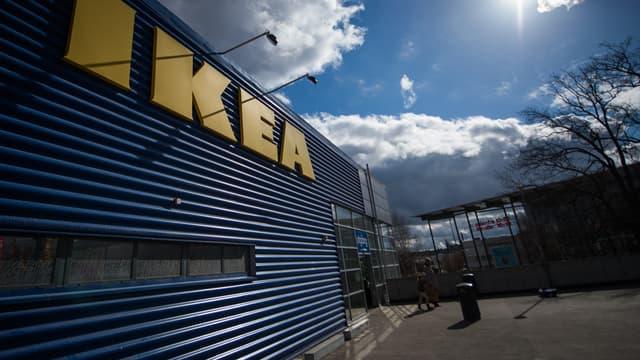 Un magasin Ikea, en Suède. (photo d'illustration)