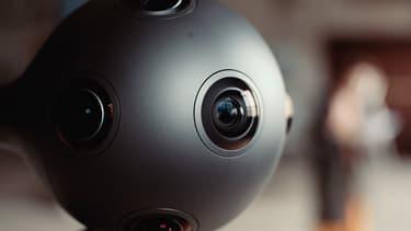 La caméra Ozo permettra au réalisateur de films en réalité virtuelle, de voir instantanément l'ensemble des images de synthèse filmées.