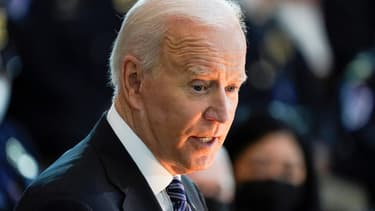 Le président Joe Biden à Washington, le 13 avril 2021