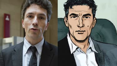 Marc Trevidic et son double fictif le juge Duquesne.