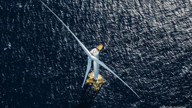 L'usine de Cherbourg va produire l'éolienne en mer la plus puissante du monde.