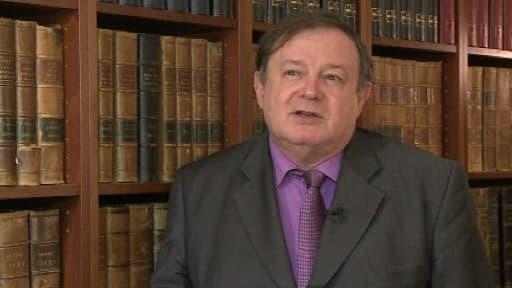Maître Jean-Pierre Mignard, avocat de Mediapart et ami de longue date de François Hollande.