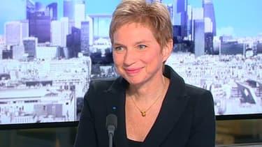 """Laurence Parisot, l'ex-présidente du Medef, était l'invitée du """"12h30"""" de BFM Business."""