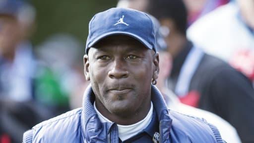Michael Jordan le 28 septembre dernier, dans ses nouveaux habits de dirigeant de club.