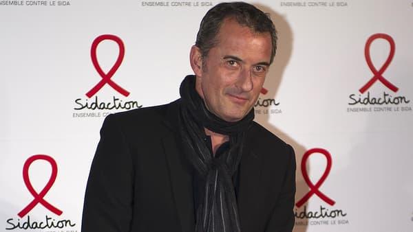 L'animateur Christophe Dechavanne à Paris en 2011