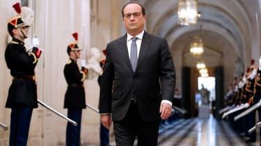 François Hollande s'exprimait devant la Parlement réuni en congrès à Versailles.