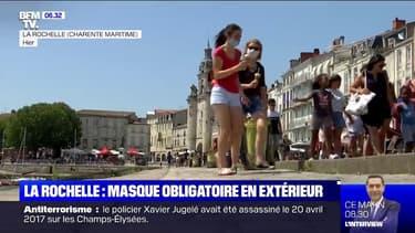 À La Rochelle, le masque est obligatoire même dans la rue