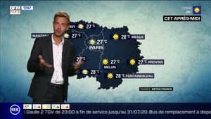 Météo Paris-Île-de-France du 13 juillet : Un léger voile nuageux