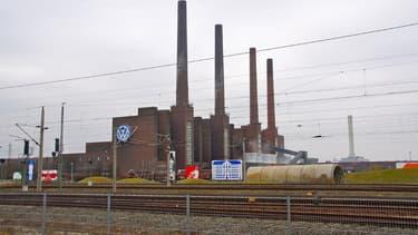 L'usine de Volkswagen à Wolfsburg