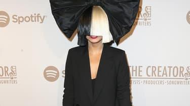 La chanteuse australienne, Sia, en dévrier 2016 à Los Angeles.