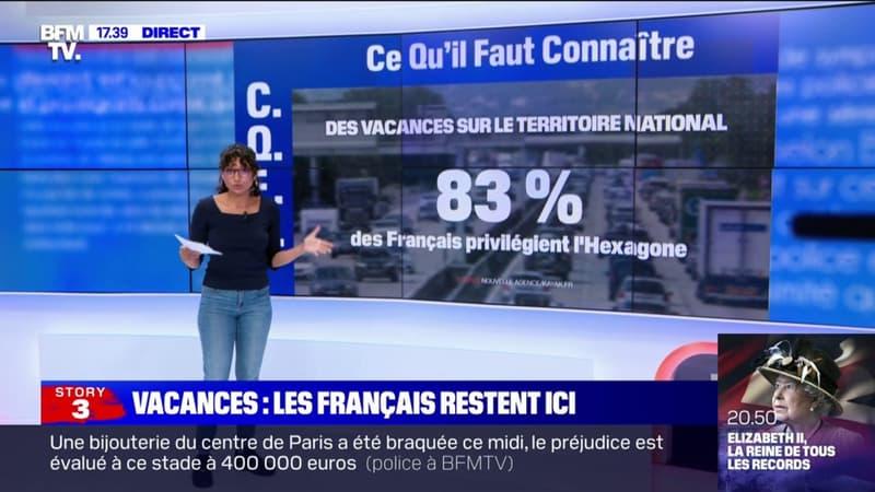 Vacances: cette année, les Français privilégient l'Hexagone