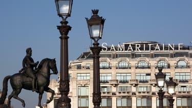 La Samaritaine est rénovée et restaurée.