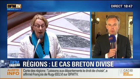 BFM Story: Carte des régions: le cas Breton divise – 16/07