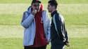 Maurizio Sarri et Cristiano Ronaldo (Juventus)
