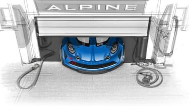 Alpine annonce une version Cup de la nouvelle A110, et un championnat dédié.